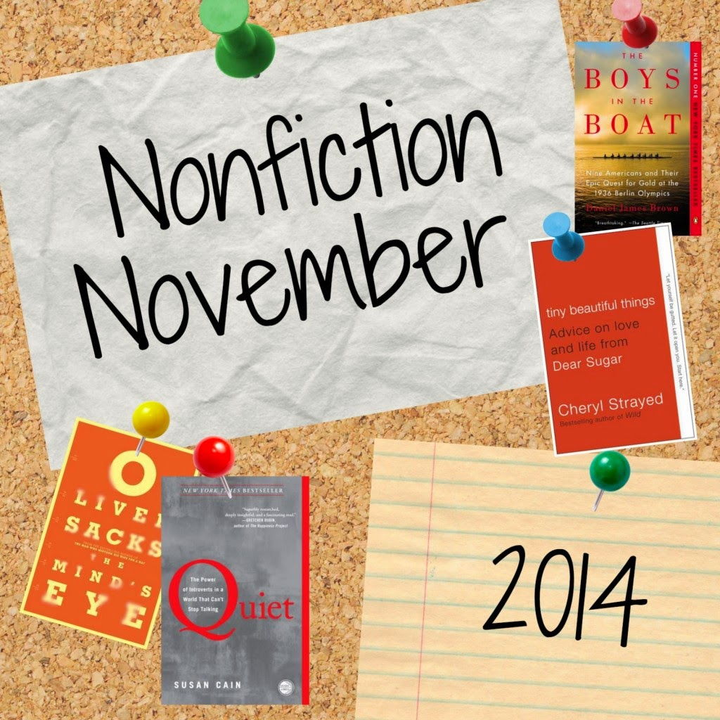 Nonfiction November participant badge