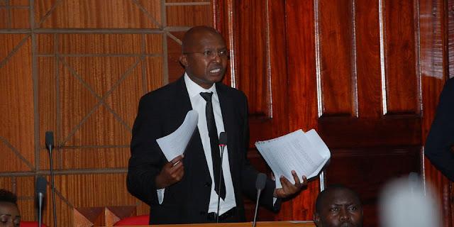 Outspoken Nakuru MCA Peter Mbae photo