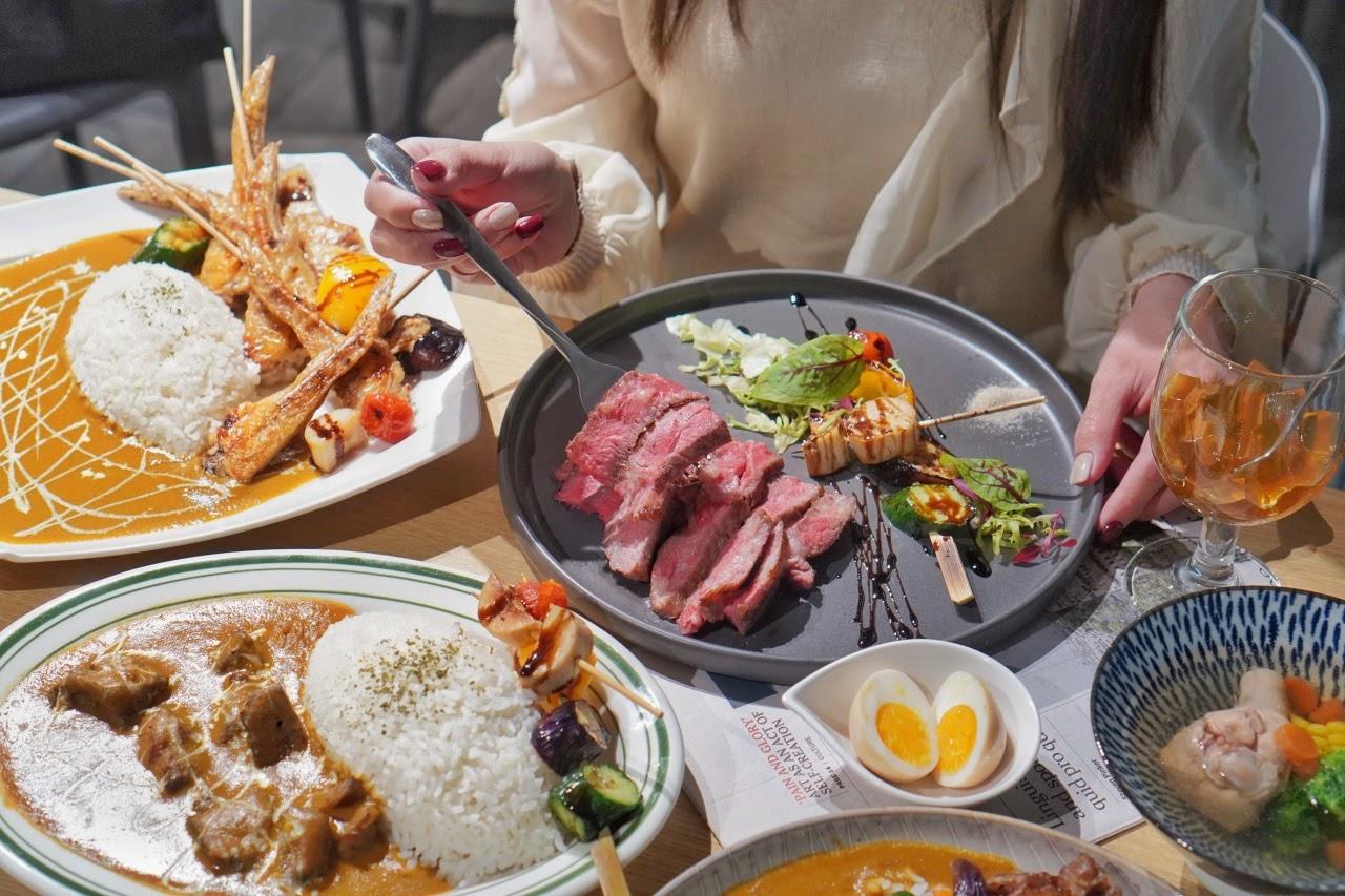 台南中西區美食【Hi咖哩 燒烤本舖】平價高CP值餐點,有如來到高級西餐廳用餐一般!慶生聚餐推薦首選,3種優惠活動可同時使用,超級划算!