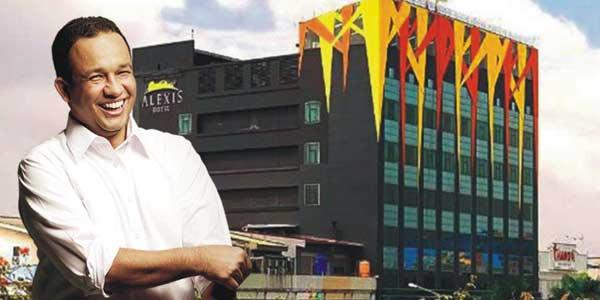 Seluruh Izin dan Kegiatan Hotel Alexis Ditutup Hari Ini