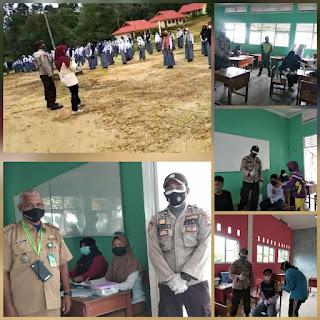 Vaksinasi Massal Dalam Rangka Percepatan Vaksinasi di Sekolah SMP dan SMA di kecamatan Selayar