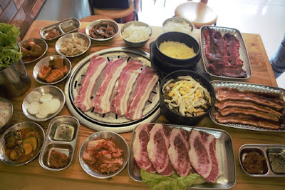 ajhm korean bbq house