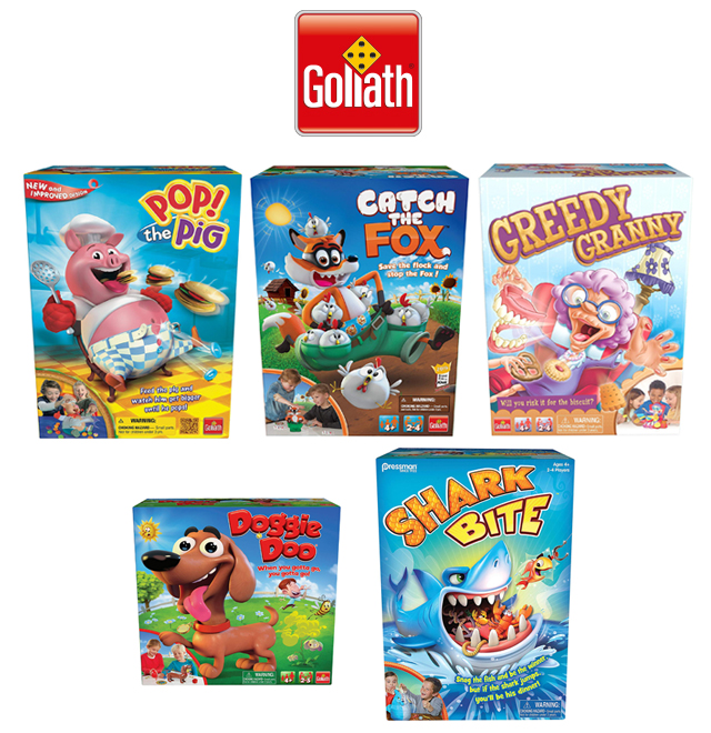 Goliath Games giveaway