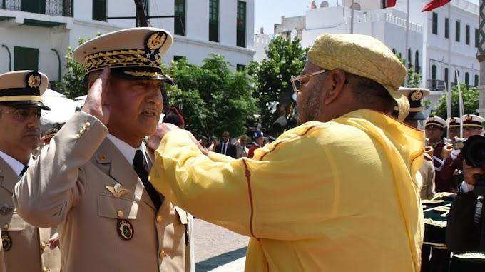 Mohamed VI destituye al jefe del Estado Mayor.