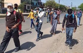 लॉक डाउन: नहीं मिला वाहन, पैदल ही दिल्ली से उत्तराखंड पहुंच रहे लोग