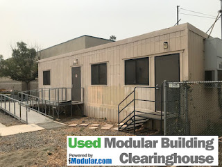 Used mobile office trailer 480 square feet