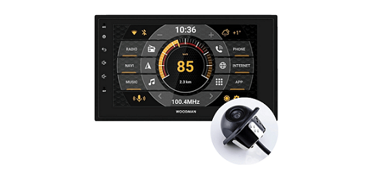 Woodman Neo2X Android 8.1 Car Stereo