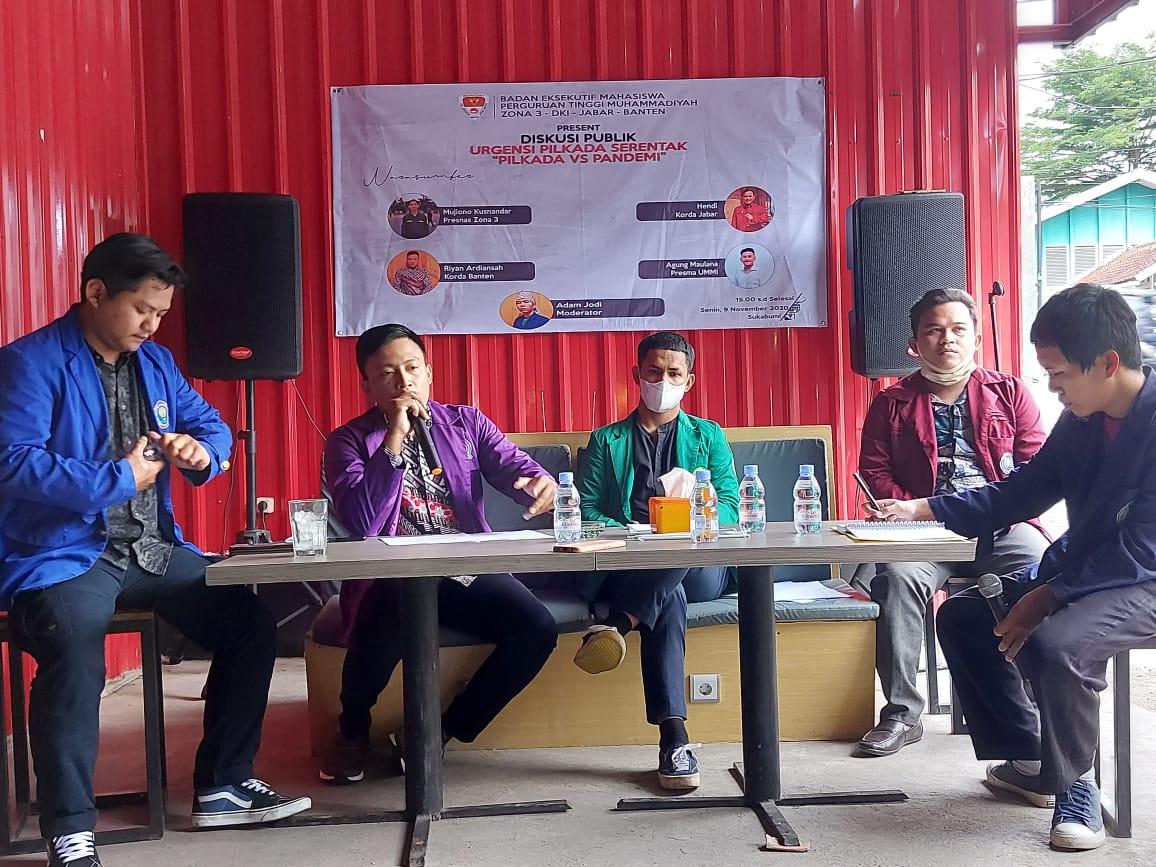 BEM PTM Zona 3 Ingatkan Penyelenggara Pemilu Harus Utamakan Protokol Kesehatan