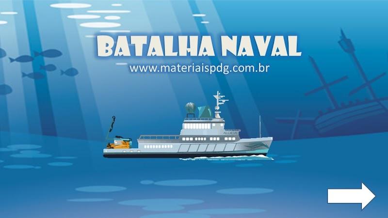 BATALHA NAVAL - JOGO ONLINE
