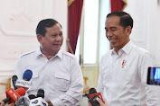 Prabowo Siap Gabung Pemerintah,ini Ungkapan Jokowi...
