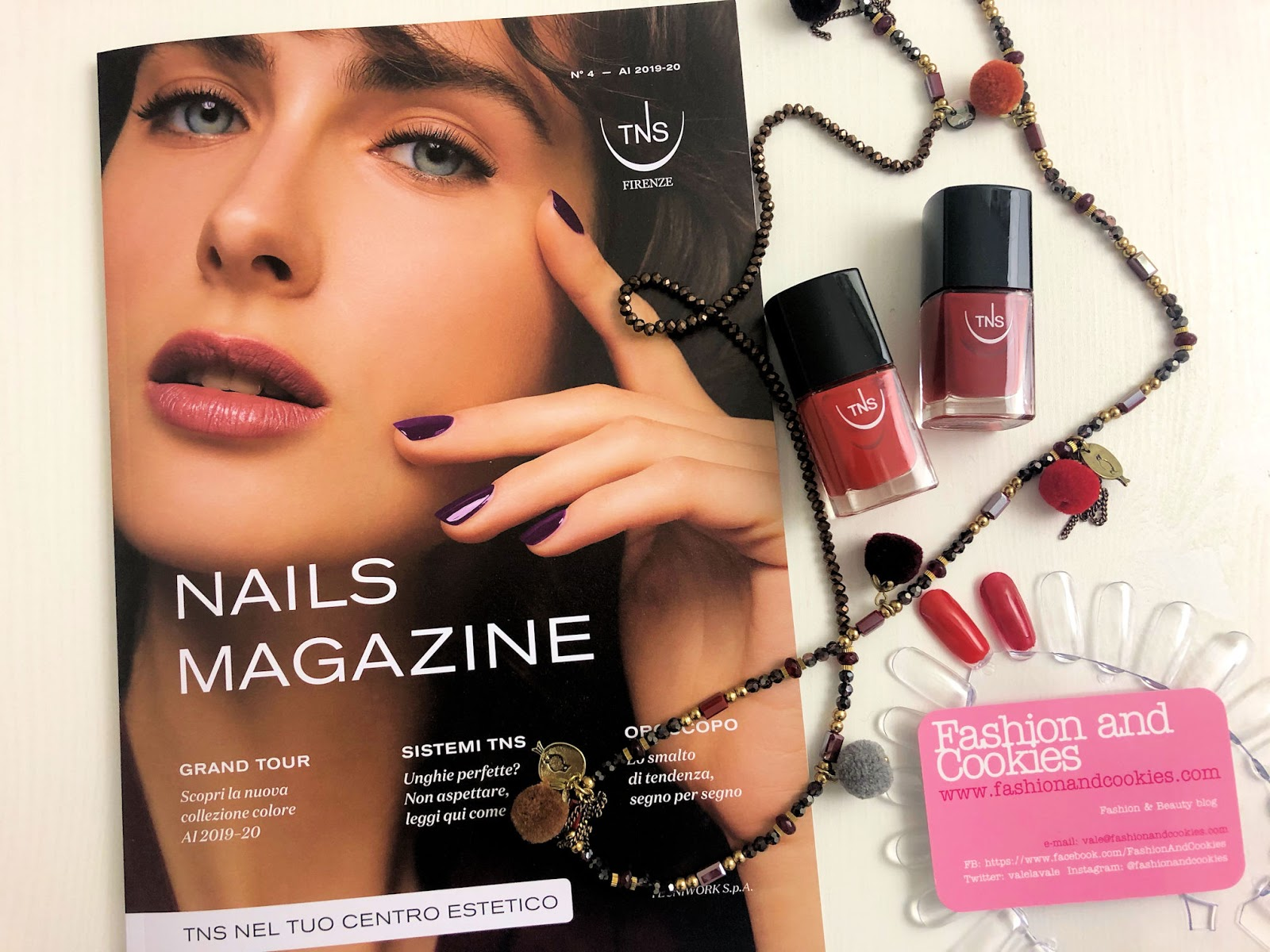 TNS Firenze Grand Tour collezione smalti Autunno Inverno 2019 su Fashion and Cookies fashion beauty blog