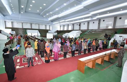 Pelantikan Pejabat Satuan Pengawasan Internal Serta Pejabat Pelaksana Akademik pada Fakultas, Lembaga, dan UPT se-Lingkup IAIN Batusangkar