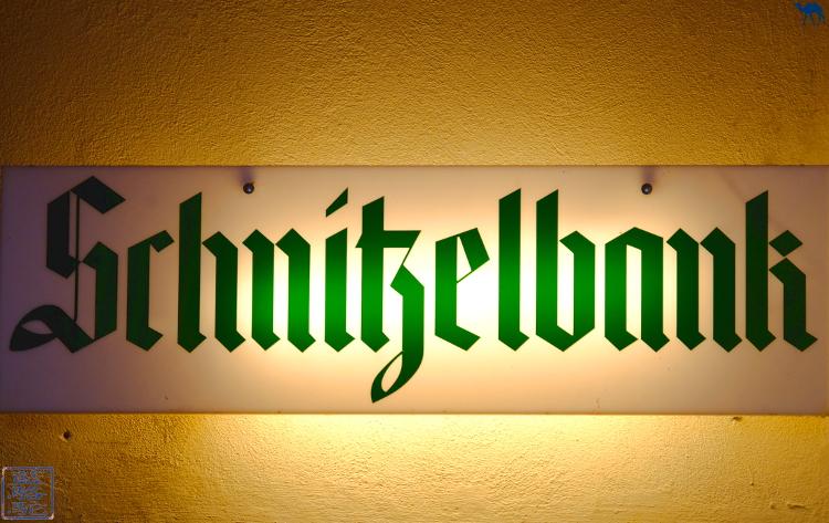 Le Chameau Bleu - Restaurant Schnitzelbank à Heidelberg Altstadt