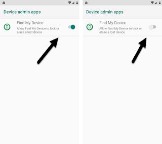 Hapus Akun Lava Benco V7 Android 9 Pie tanpa sukses