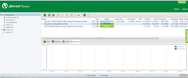 Cara menggunakan uTorrent dengan cara remote