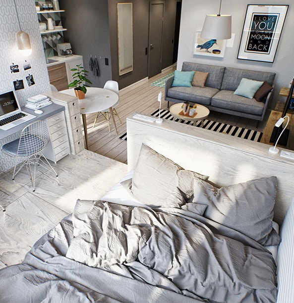The Best Small Apartment Interior Design Ideas 5