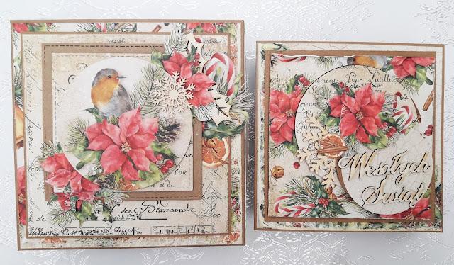 Poinsecja i ptaszek