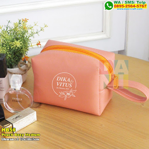 Pouch Boxy Medium