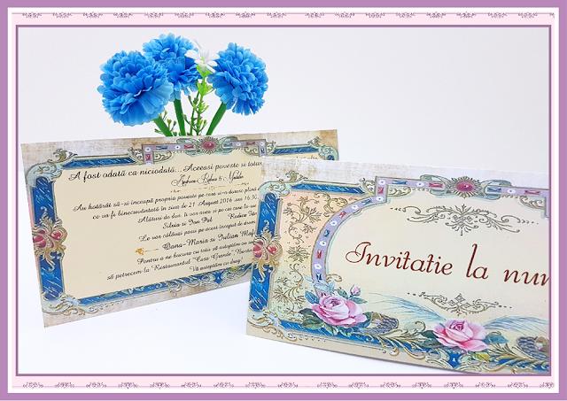 Invitatii Nunta Victorian 1