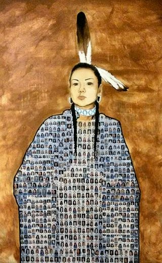 Tribute to murdered and missing Indigenous women and girls, by Jonathan Labillois