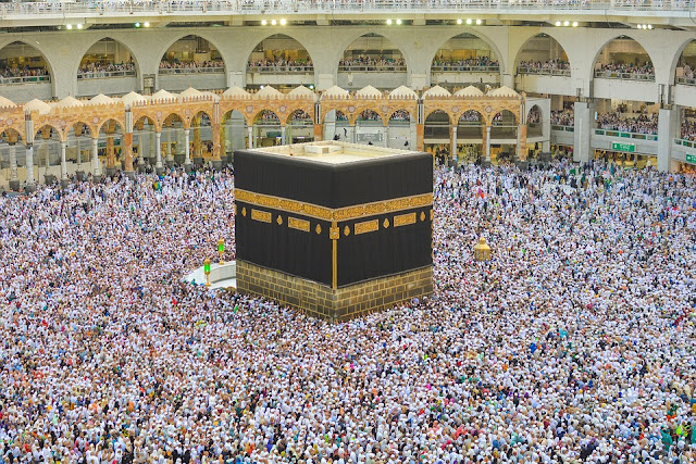 Easy ways to find Qiblah using AR