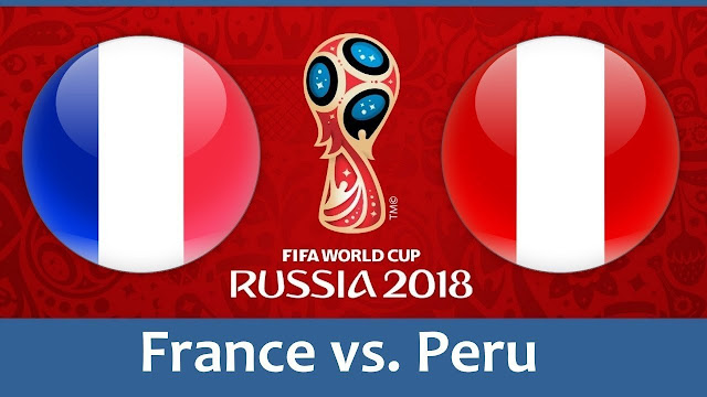 France vs Peru Full Match Replay 21 June 2018