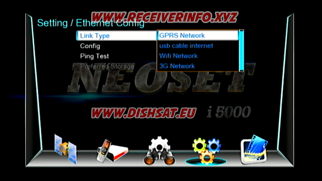 NEOSAT I 5000 1506G HD RECEIVER IMEI CHANGE OPTION