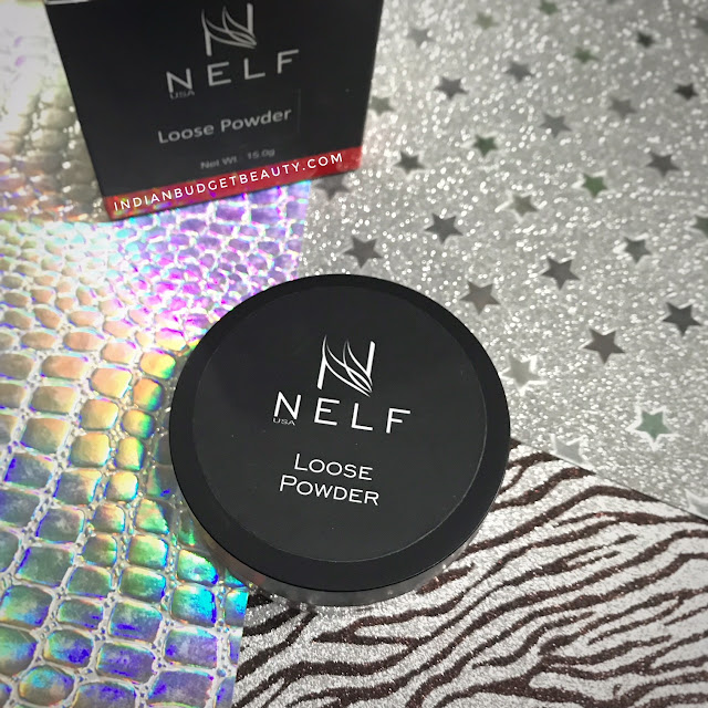 NELF USA Peach Matte Loose Powder container