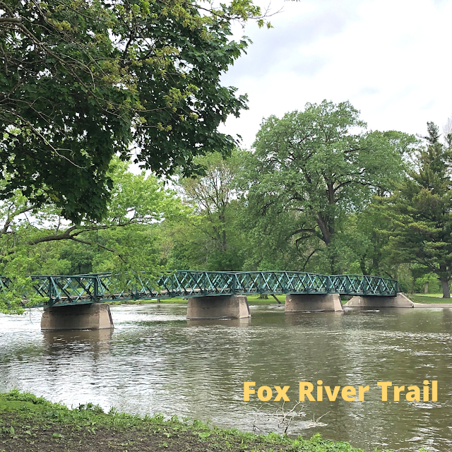 The Fox River Trail is a multi-use tail which hugs the picturesque Fox River running from Algonquin to Aurora.
