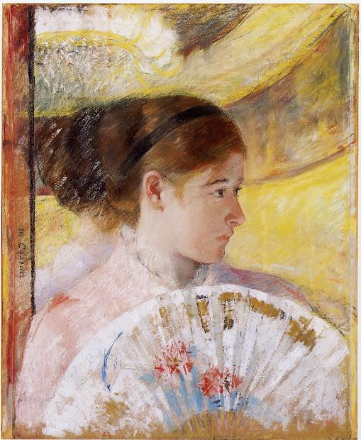 ' Time Summer Fans - Mary Cassatt 1844-1926