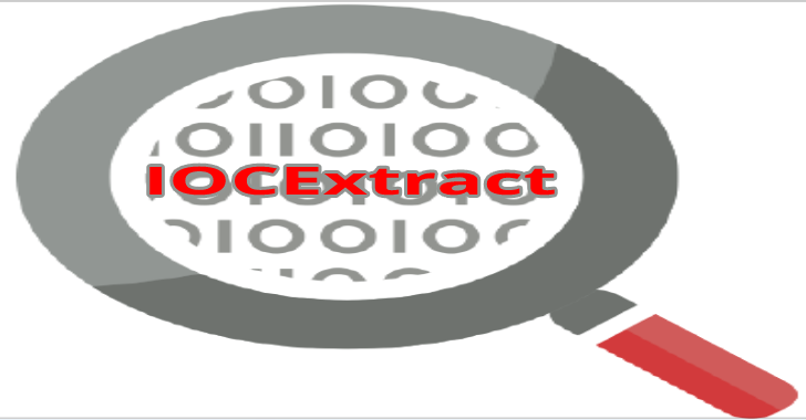 IOCExtract : Advanced Indicator Of Compromise (IOC) Extractor