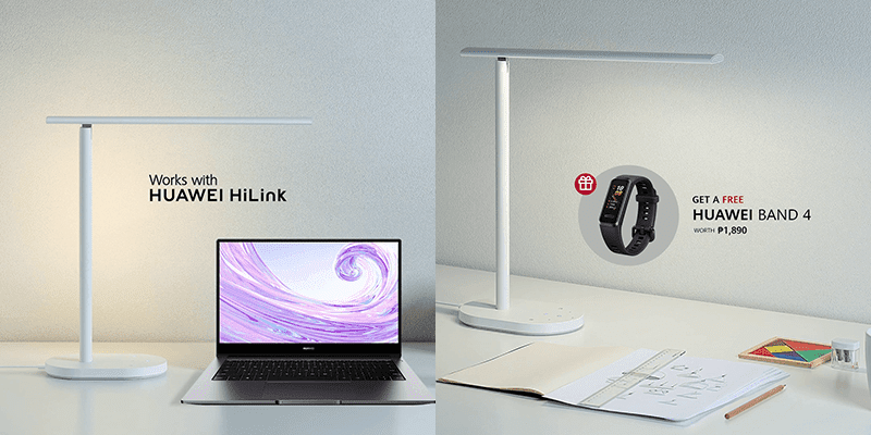 Huawei Philippines launches OPPLE Smart Desk Lamp, Huawei WiFi AX3, and WS5200!