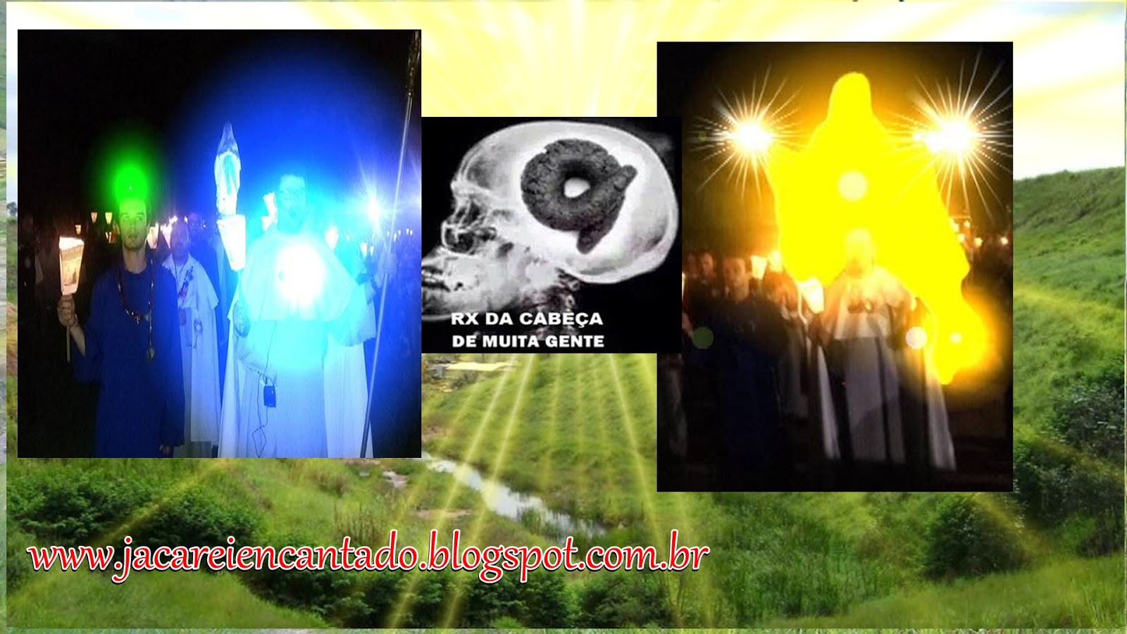 jacareiencantado,peregrinos, andor,sinas,vidente marquinho, mensagens, sinais,  rainha, falsas, verdadeira, Nelson Westrupp,procissão, vulto, peregrinos, velas, paz,