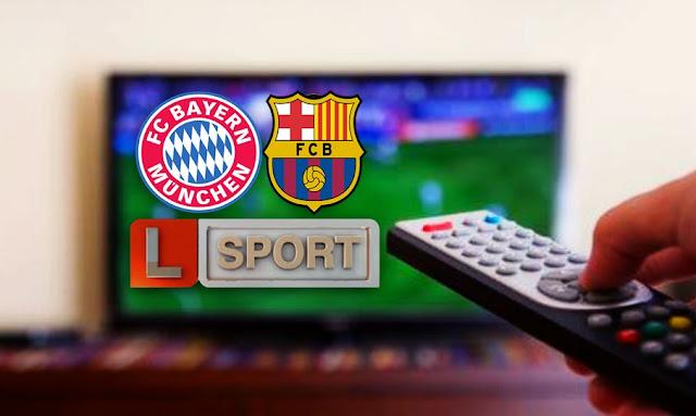 قناة ليبيا الرياضية تنقل مباراة  برشلونة وبايرن ميونخ في ربع نهائي دوري الأبطال