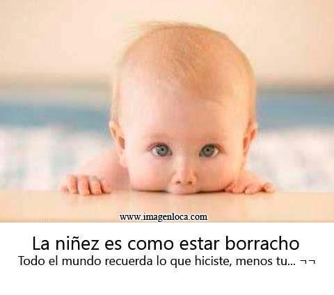 Imagenes De Bebes Con Frases Graciosas