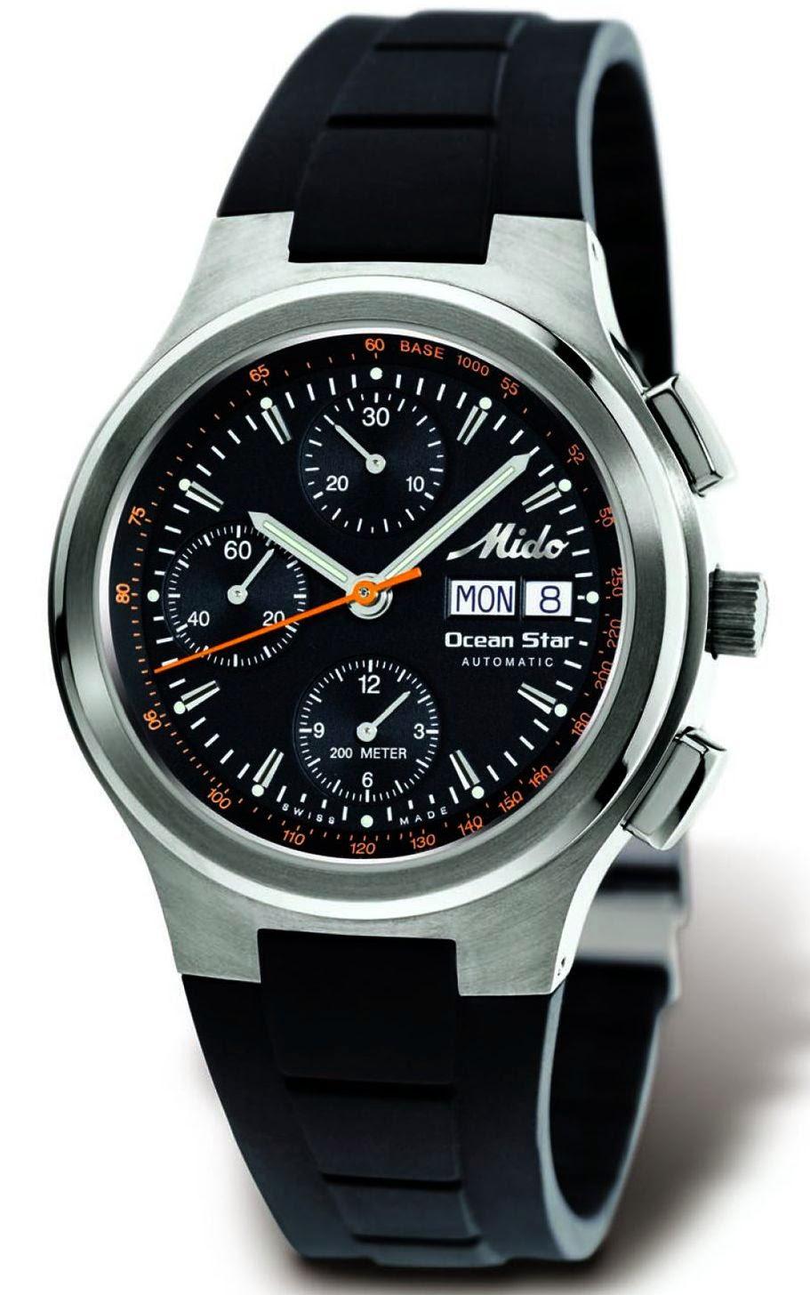 MIDO Ocean Star Sport Automatic Chronograph Titanium
