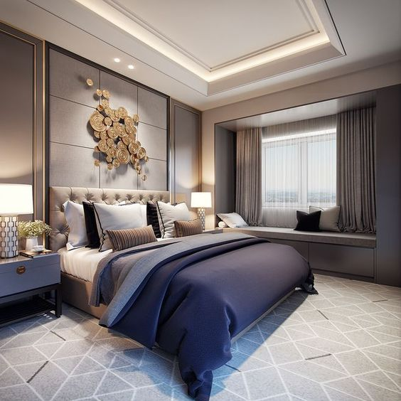 Celebrity Home Decor: 20 Trendy Bedroom Designs Seen In Celebrity Homes