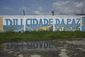 Graffiti in Dili - City of Peace