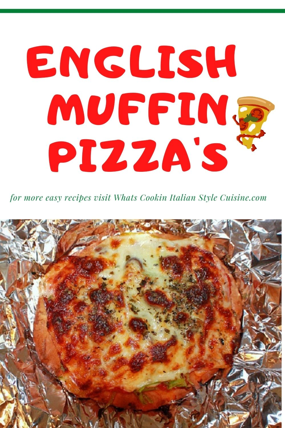 this is a pin on how to find English Muffin pizza
