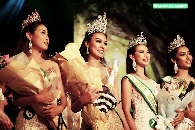 """Miss Earth Myanmar 2017"" ဆုကို အလွမယ္ တင္စႏၵာမ်ိဳး မွ ဆြတ္ခူး"