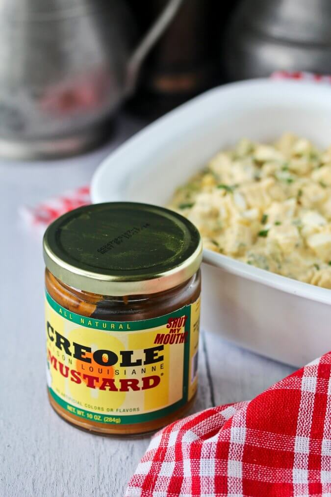 Potato Salad with Creole Mustard