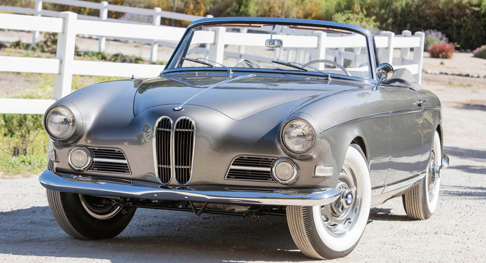 this beautifully obscure 1957 bmw 503 bertone cabriolet is. Black Bedroom Furniture Sets. Home Design Ideas