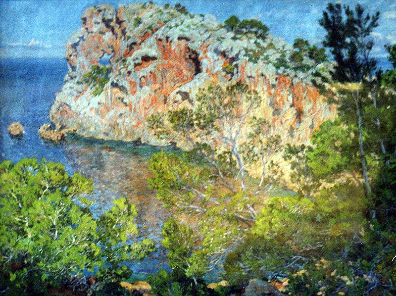 Lorenzo Cerdá Bisbal, Sa Foradada, Mallorca en Pintura, Mallorca pintada, Paisajes de Mallorca