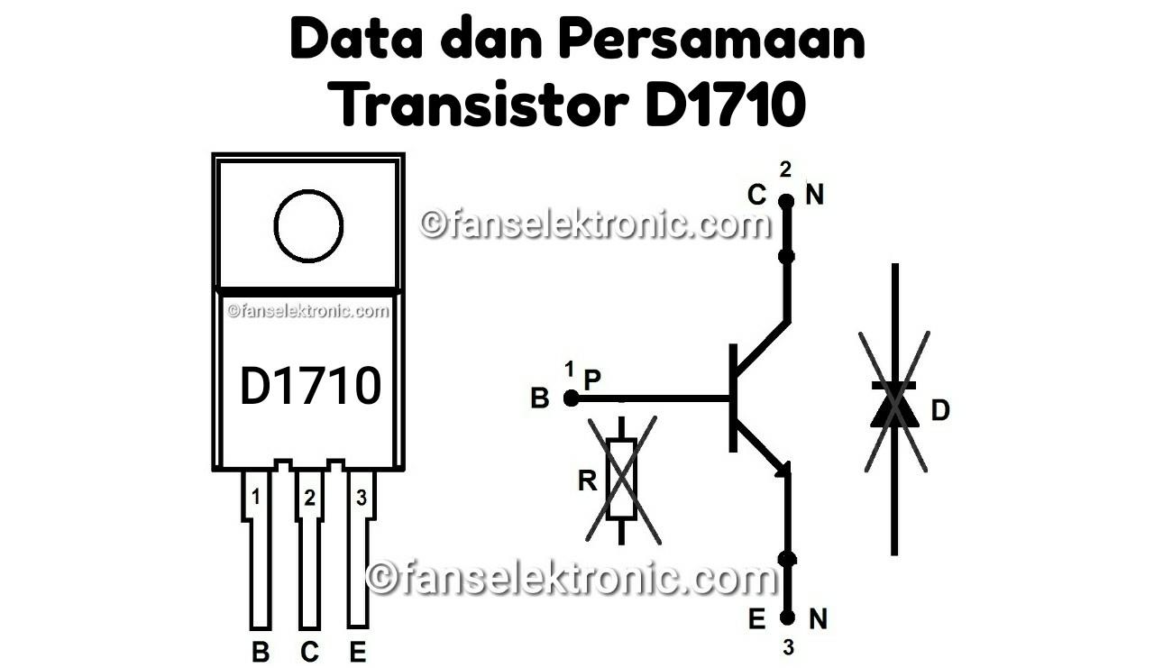Persamaan Transistor D1710