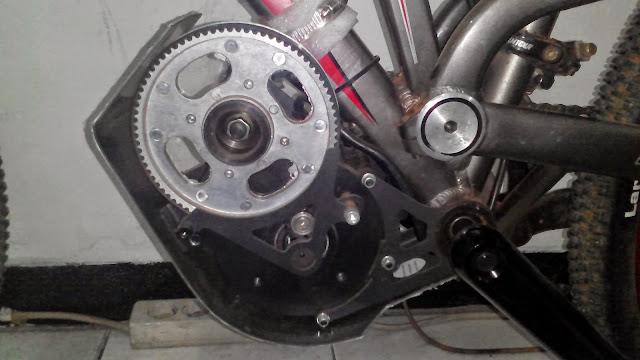mesin sepeda listrik