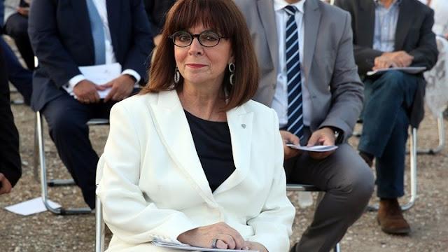 Στην Αργολίδα η Πρόεδρος της Δημοκρατίας για τα Βραβεία Πολιτισμού Μαριάννα Β. Βαρδινογιάννη