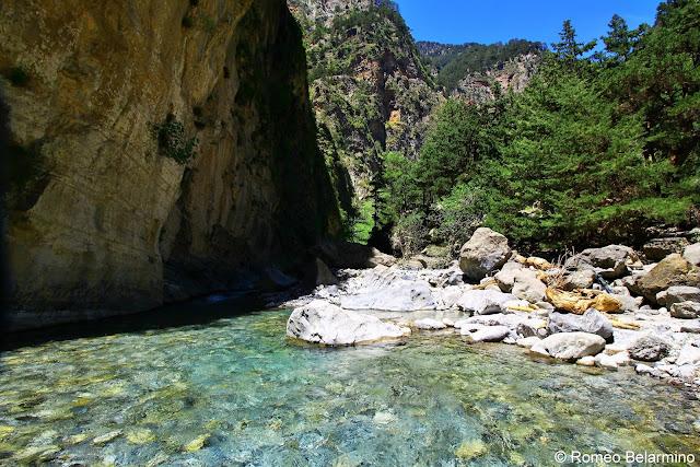 Samaria Gorge and River Samaria Gorge Hike Crete Greece