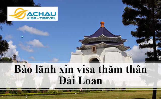 Mới nhập quốc tịch Đài Loan có bảo lãnh xin visa thăm thân Đài Loan được không?