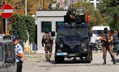 Embaixada de Israel em Ancara é alvo de terrorista