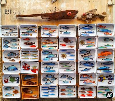 Fish souvenirs shop, Ortigia, Siracusa | Sicily, Italy | wayamaya